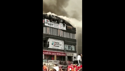 Surat Shocking Fire  Incident | 21 Dead