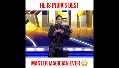 He Is Indias Best MAGICIAN | India's Got Talent