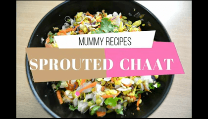 Healthy Sprouts Chaat Recipe