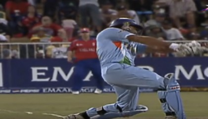 Yuvraj Singh 6,6,6,6,6,6 In 1 Over